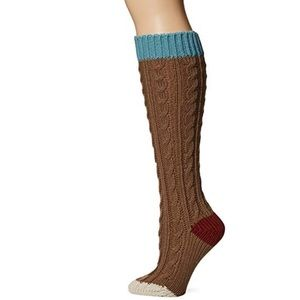 "New Muk Luks Cable Knit 15"" Knee Socks"